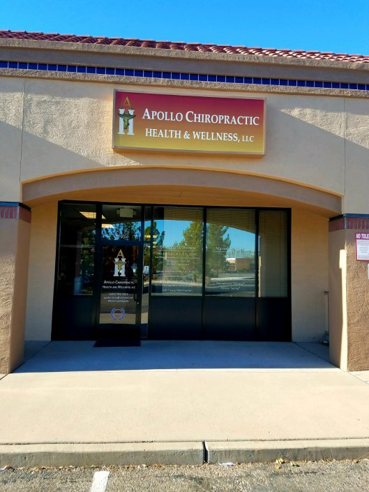 Photo of the Apollo Chiropractic storefront