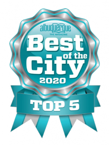 Top 5 Best of the City 2020 logo